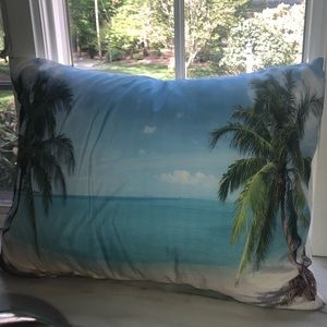 🏝Tropical Beach Pillow Excellent Condition🏝